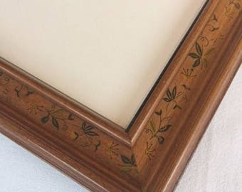 Vintage Frame, 8x10 frame, wood frame, photo frame