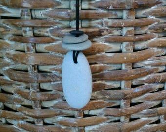 Oregon coast Stone necklace
