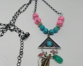 Triangle Drop Necklace