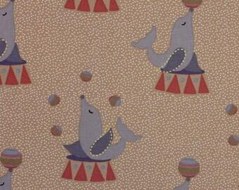 Circus Sea Lions - Fat Quarter - Fabric Freedom
