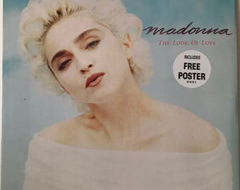 Madonna The Look of Love UK EP Record with Poster