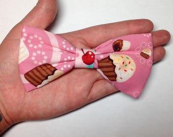 Cupcake Hair Bow for girls