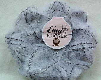 Vintage Emu Filigree Light Grey Mohair Wol ( 17 x 25g)