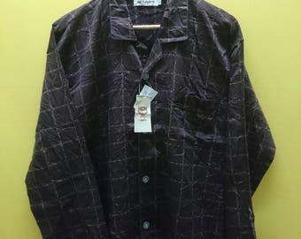 Vintage MCM Legere Button Down Woman Shirt