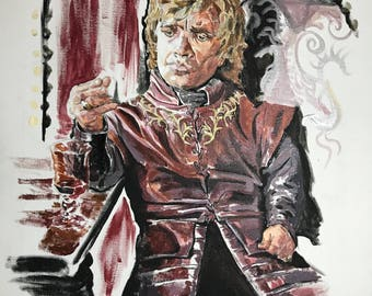 16x20 Tyrion Lannister canvas
