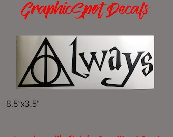 Always Decal | Deathly Hallows |