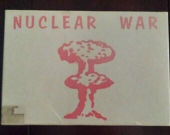 Nuclear War Card Game Douglas Malewicki Classic