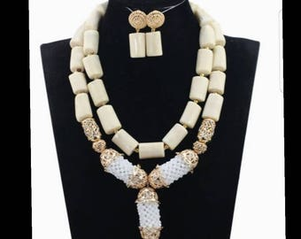 New Elegant African Wedding Coral Beads Set