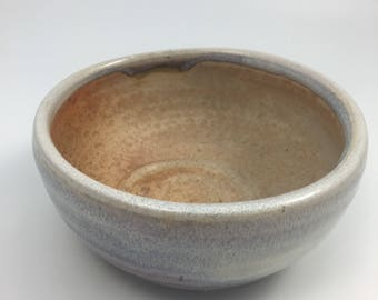 Lavender woodfired bowl