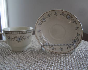 Royal Doulton LambethWare Dorset LS 1049 Cup and Saucer