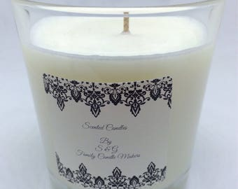 Soya Candle - Scent Is Diamonds