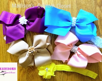 Baby Girls bow head band