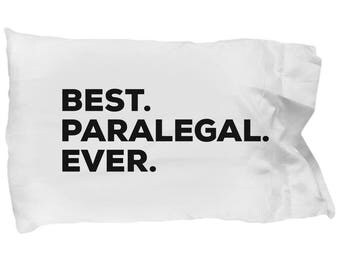 Paralegal Pillow Case, Gifts For Paralegal , Best Paralegal Ever, Paralegal Pillowcase, Christmas Present, Paralegal Gift