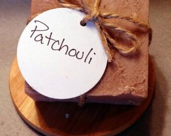 Patchouli - Handmade Soap - Natural Soap - Essential Oil Soap - Cold Process Soap