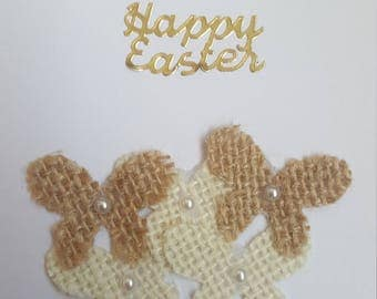 Happy Easter Butterfly Handmade Card