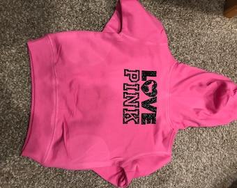 Toddler hoodie, customizable!