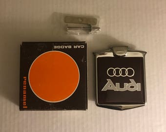 New Vintage Audi Grill Badge