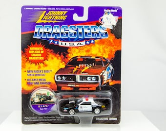 Johnny Lightning Dragsters USA Limited Edition '92 L.A.P.D. 1/64 Diecast