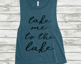 Summer Tank Top, Summer Tank, Lake Life, Lake Tank, Lake Tank Top, Summer Tanks, Summer Tank Tops, Summer Shirt, Women's Tank Top, Tank Top