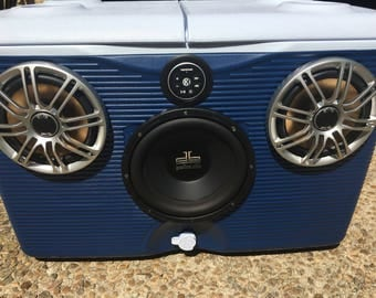 Ice Chest Bluetooth Boombox Stereo