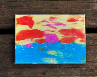 Super Cute Sunset Painting