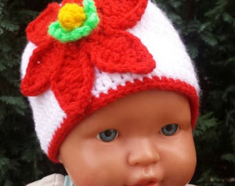 Christmas Baby 0-3 months Hat