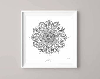 Mandala, will give you and your room peace and harmony