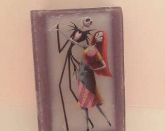 Nightmare before christmas- Jack and Sally-lm, soap