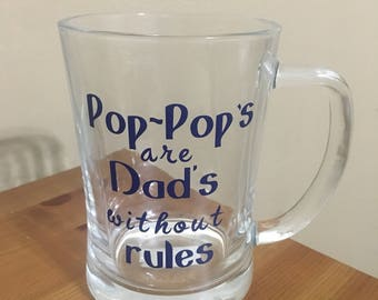 Pop-Pop Mug-Dad Mug-Poppy Gift-Papa Mug-Pop Pop Christmas Gift-Holiday Gift-