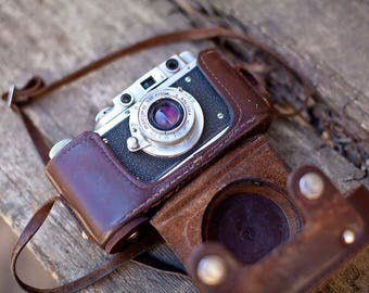 Photo Camera Vintage Photo Camera Zorkiy Soiviet Photo Camera Zorki