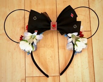 Alice in Wonderland Flower Wire Ears