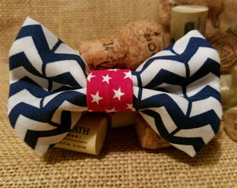 Red, White, and Blue Bow Tie - Youth