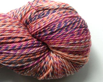 Berry Trifle - Sock Fingering - SW Merino Nylon Hand Dyed Yarn