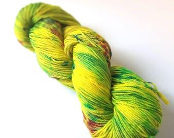 Untitled 08 - Postscript Fingering - Hand-Dyed Sock Yarn