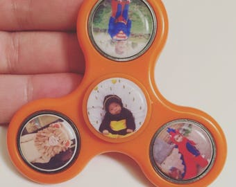Personalized Spinner - Custom Photo Spinner  - Personalized Fidge Spinner - Memory Keepsake - Personalized Custom Gift