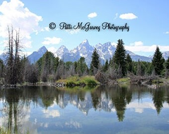 The Teton Mountains