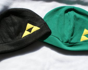 Legend of Zelda triforce inspired fleece hat/beanie