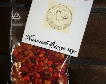 Nazareth red incense bag 15gr