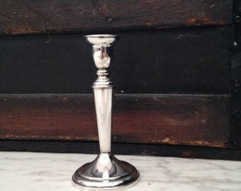 Beautiful Sterling Silver Candlestick