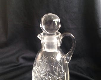Beautiful, beautiful crystal antique jug.