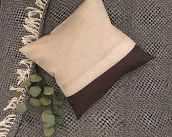 Mixed Linen Cushion Cover