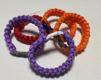 4th of July SALE!!! GlorySurvival Paracord Kids Bracelet
