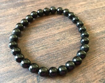 Black Obsidian - 6mm beads