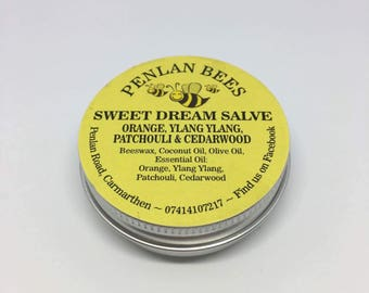 Sweet Dream Salve orange ylang ylang patchouli & cedarwood