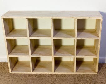 Wood Cube Shelves, Wood Storage Cubes For Display Shelving Shoe Rack Or Wood  Bookshelf,