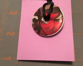 Deadpool  Washer Necklace