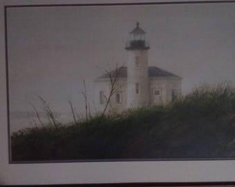Fog At Bandon by Thomas Williams Jones framed print 25 x 33 matte finish