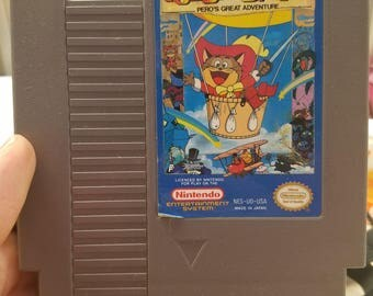 NES Puss n Boots game. Pedro's great adventure