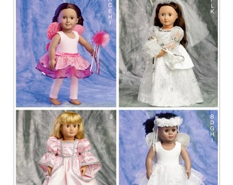 """McCalls 6981 - Clothes & Accessories for 18"""" Doll"""