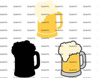 Beer Mug svg Beer svg files for cricut svg for silhouette vector cut files svg dxf
